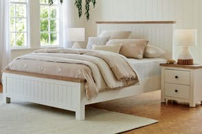 Lincoln Queen Bed Frame by John Young Furniture