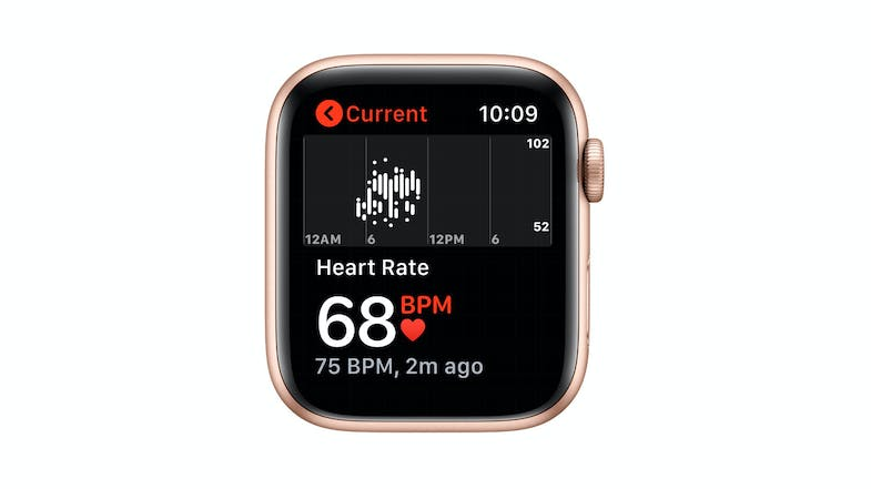 Apple Watch Series 5 (GPS+Cellular) 44mm Gold + Pink Sand Sport Band