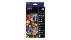 Epson 410XL Black + 410 Colours Ink Cartridge - Value Pack