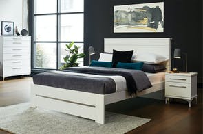 Aza Queen Bed Frame by Compac Furniture