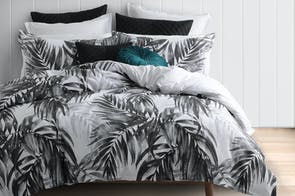 Bermuda Black Duvet Cover Set by Savona