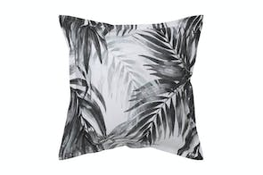 Bermuda Black European Pillowcase by Savona