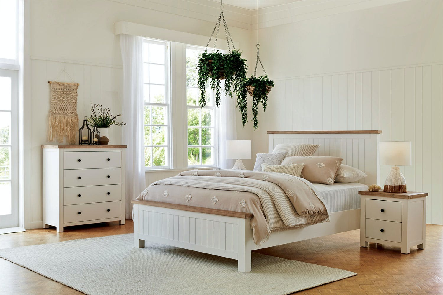 Lincoln 4 Piece Queen Tallboy Bedroom Suite By John Young Furniture | Harvey  Norman New Zealand