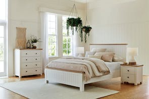 Lincoln 4 Piece Queen Tallboy Bedroom Suite by Dixie Cummings