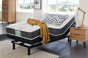 SleepMaker Dream Support Firm King Single Mattress with Ease Adjustable Base by Tempur