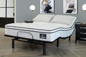 King Koil Viva Medium Queen Mattress with Lifestyle Supreme Adjustable Base
