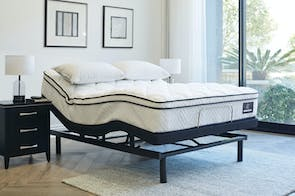 King Koil Viva Medium Queen Mattress with Ease Adjustable Base by Tempur