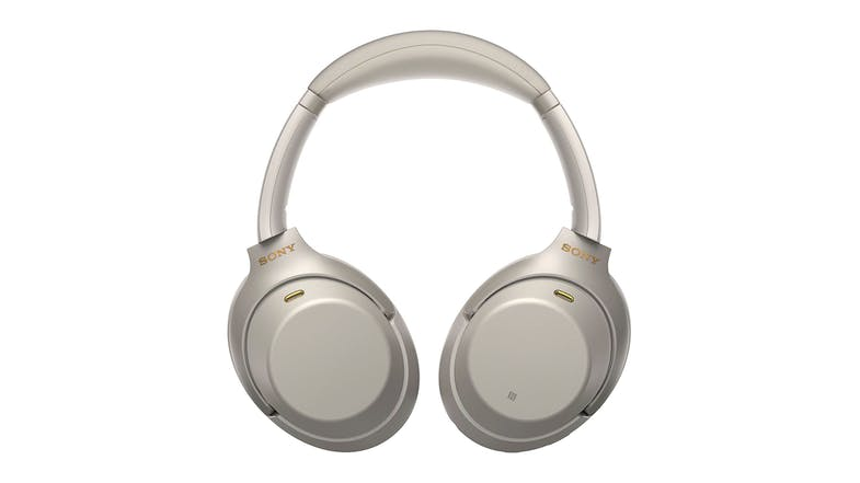 Sony WH1000XM3 Wireless Noise Cancelling Over-Ear Headphones - Silver