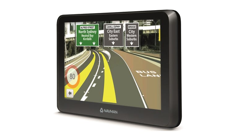 Navman Drive Duo 2.0 GPS Navigator Right Side