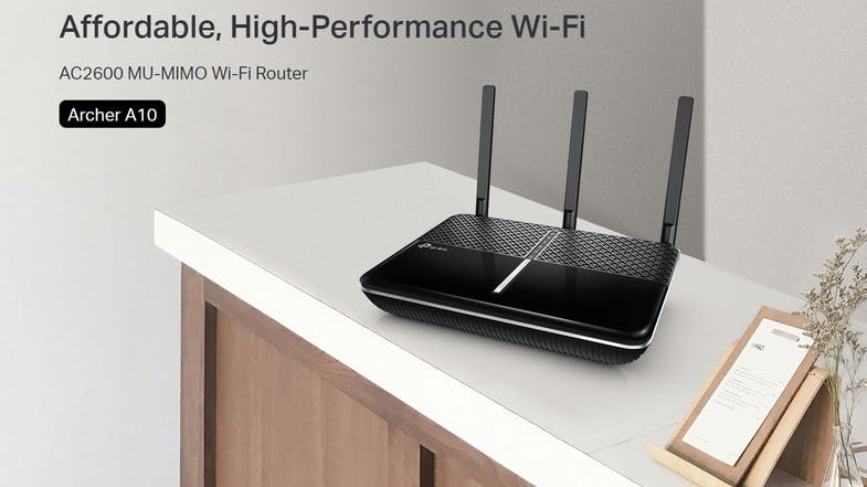 TP-Link AC2600 Wireless Dual Band GB Router