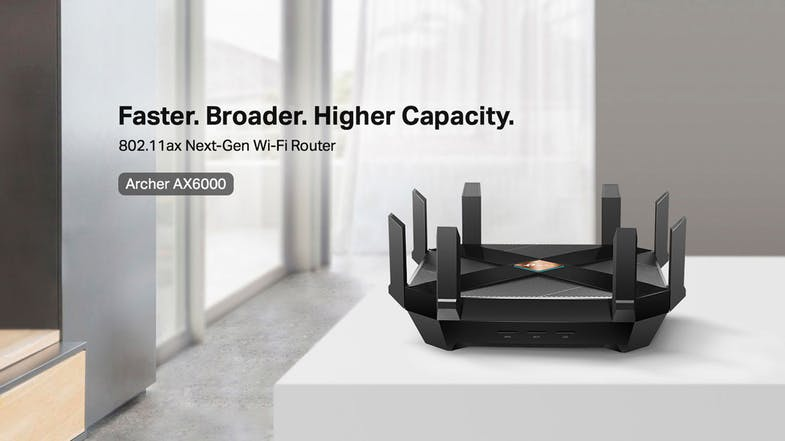 TP-Link Archer AX6000 Wi-Fi 6 Router