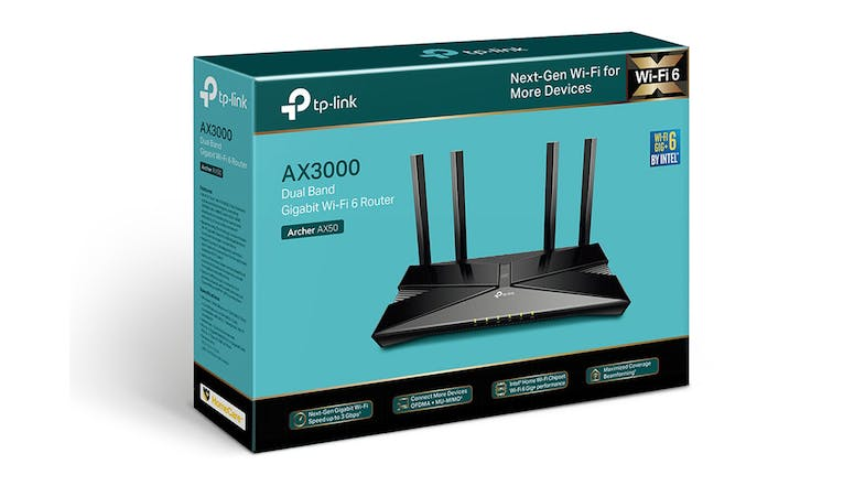 TP-Link  AX3000 Dual Band Wireless Wi-Fi 6 Gigabit Router