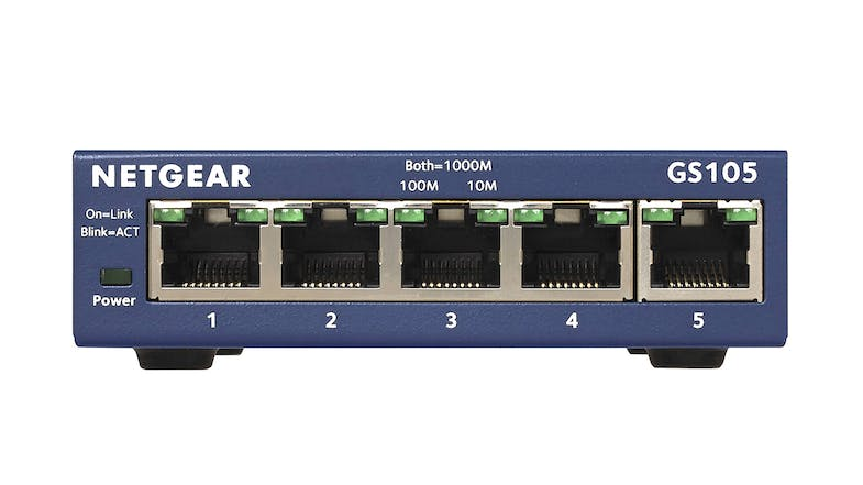 Netgear GS105 Gigabit Switch - 5 Port