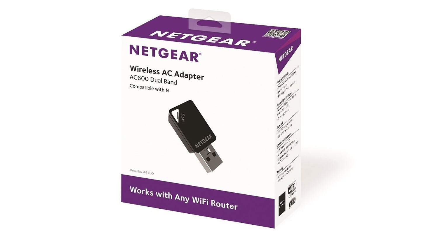 Netgear AC600 Mini Wireless USB Adapter