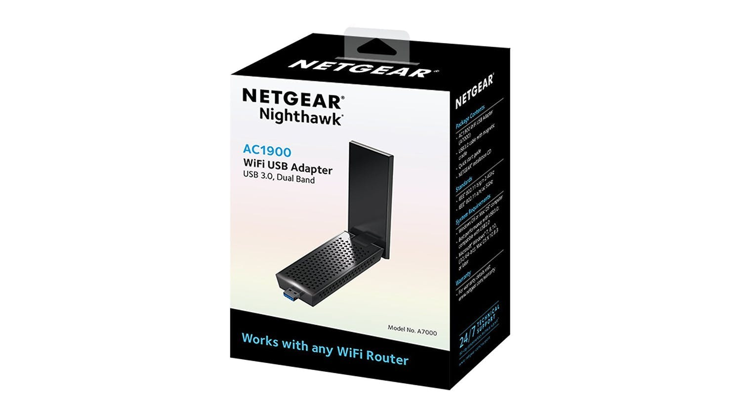 Netgear Nighthawk AC1900 WiFi USB 3.0 Adapter