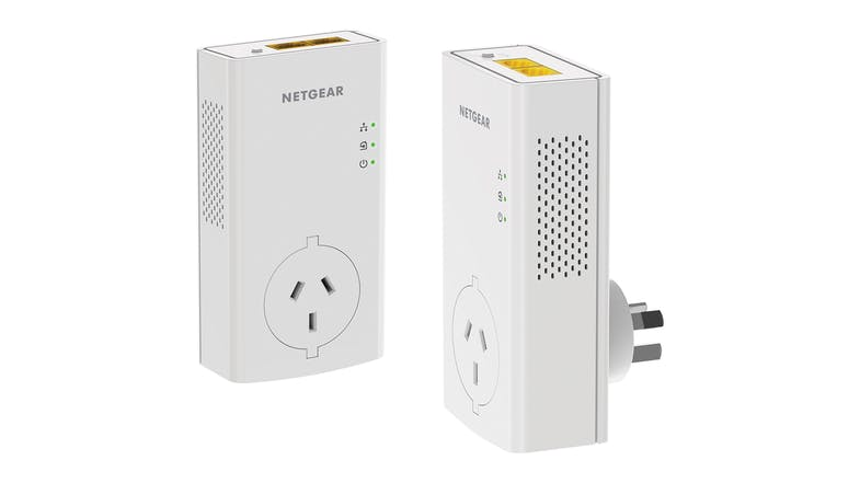 Netgear Powerline 2000 + Extra Outlet Network Adapter