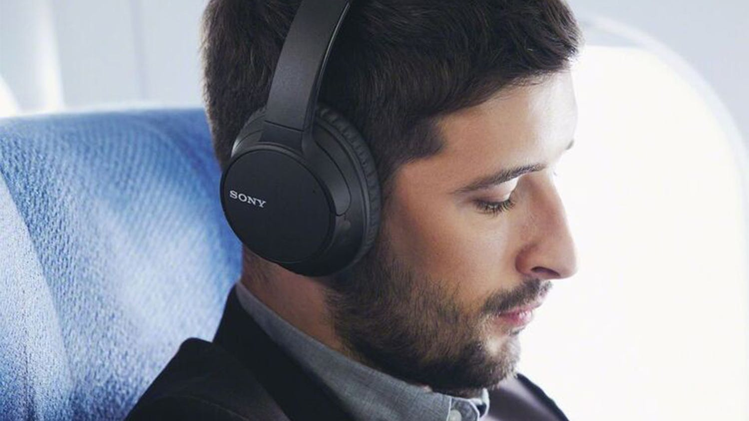 Sony WHCH700N Wireless Noise Cancelling Over-Ear Headphones