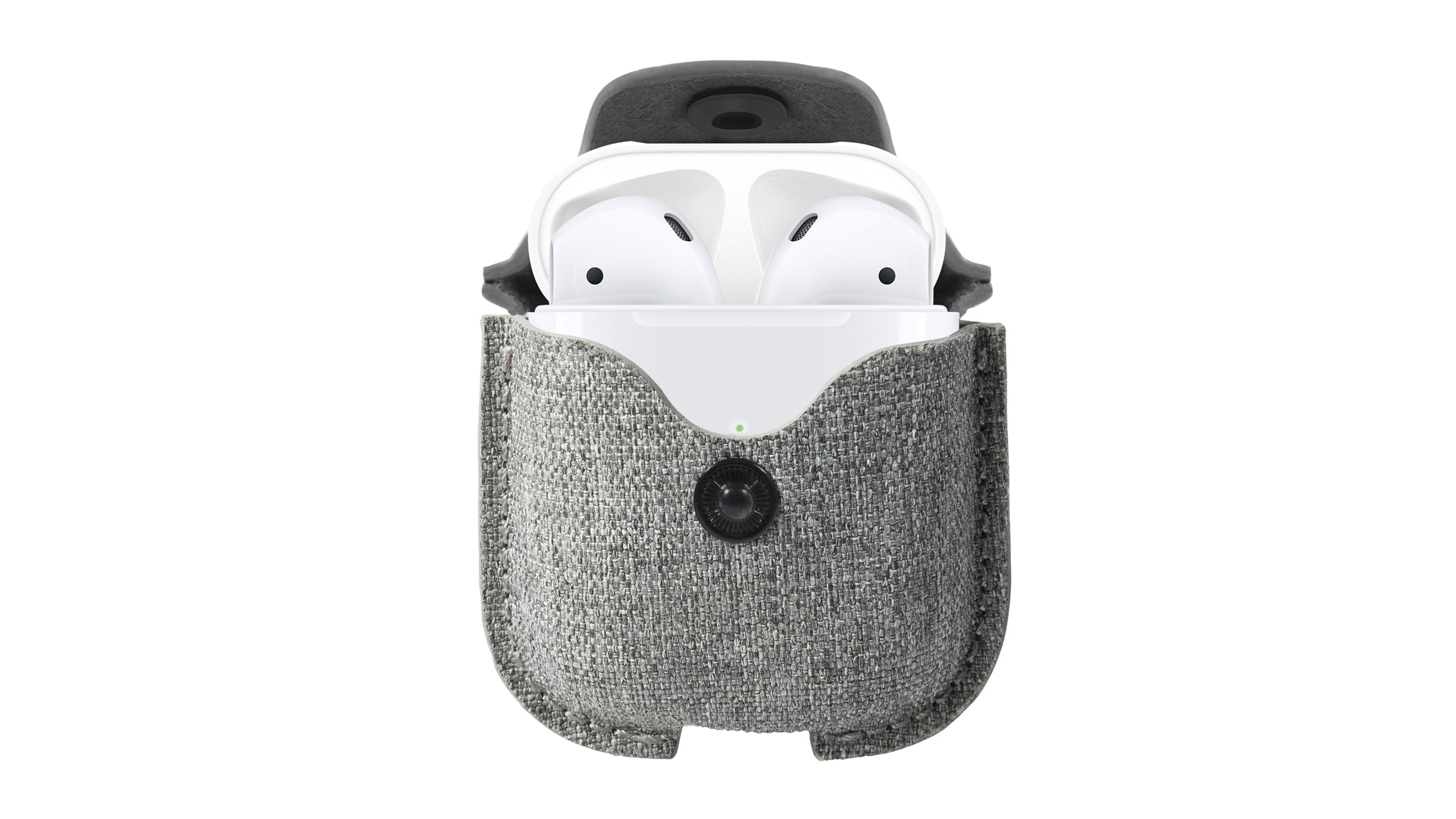 Twelve South Airsnap For Airpods - Light Grey