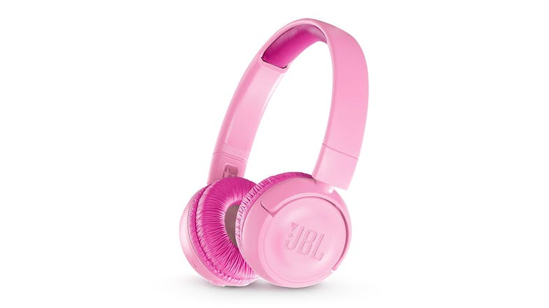 JBL JR300 Kids Wireless On-Ear Headphones - Pink