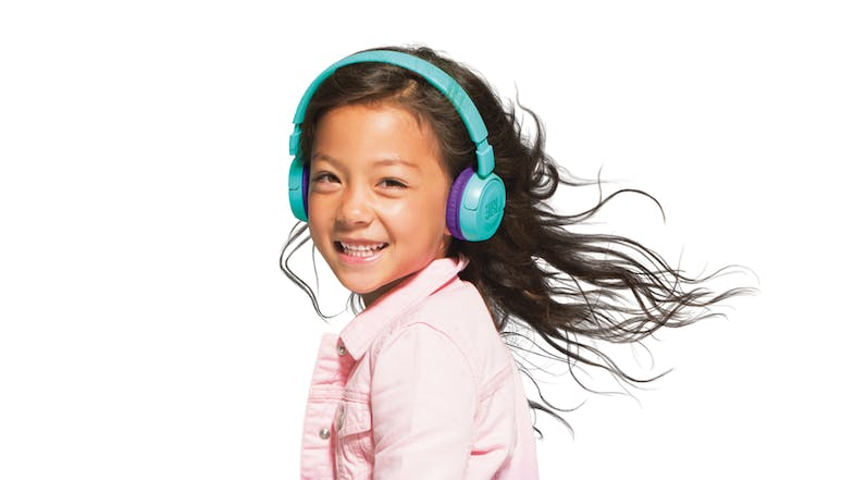 JBL JR300 Kids Wireless On-Ear Headphones - Teal