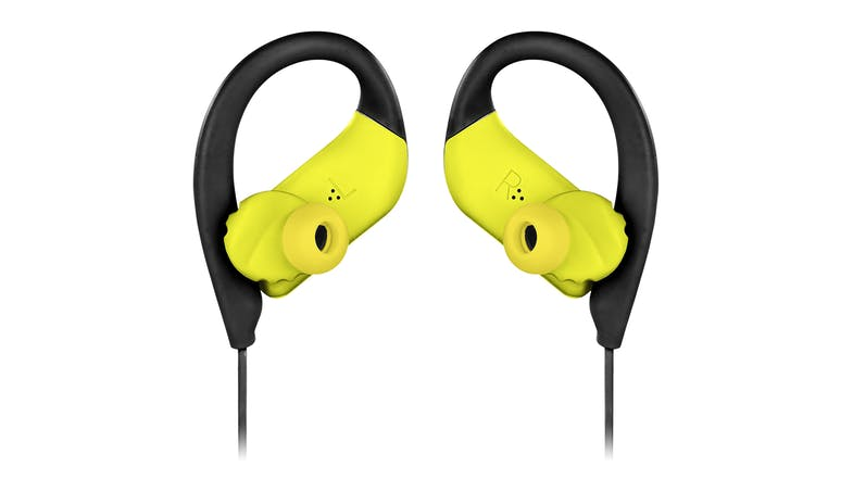 JBL Endurance Sprint Wireless In-Ear Headphones - Black/Lime