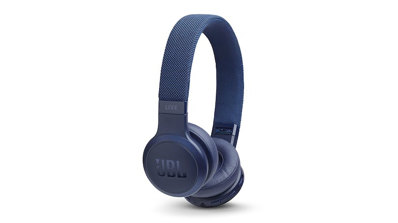 JBL Live 400 Wireless On-Ear Headphones - Blue
