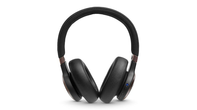 JBL Live 650 Noise-Cancelling Wireless Over-Ear Headphones - Black