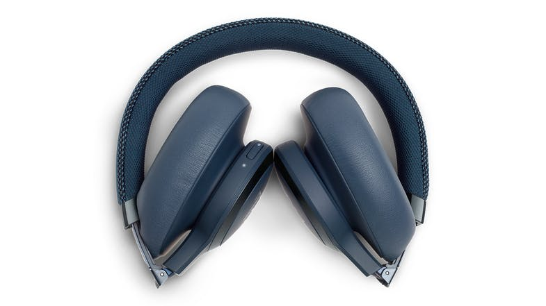 JBL Live 650 Noise-Cancelling Wireless Over-Ear Headphones - Blue