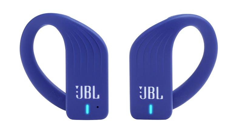 JBL Endurance Peak In Ear Headphones Blue