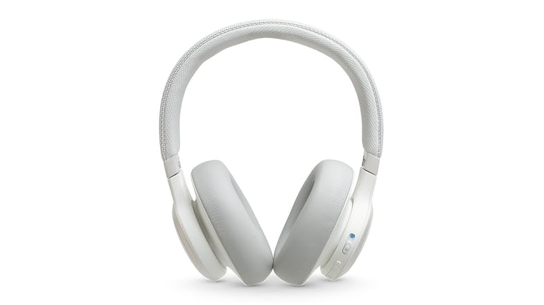 JBL Live 650 Noise-Cancelling Wireless Over-Ear Headphones - White