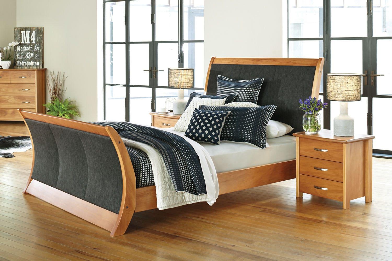 Cassidy Oak King Bed Frame By Ezirest Furniture | Harvey Norman New Zealand
