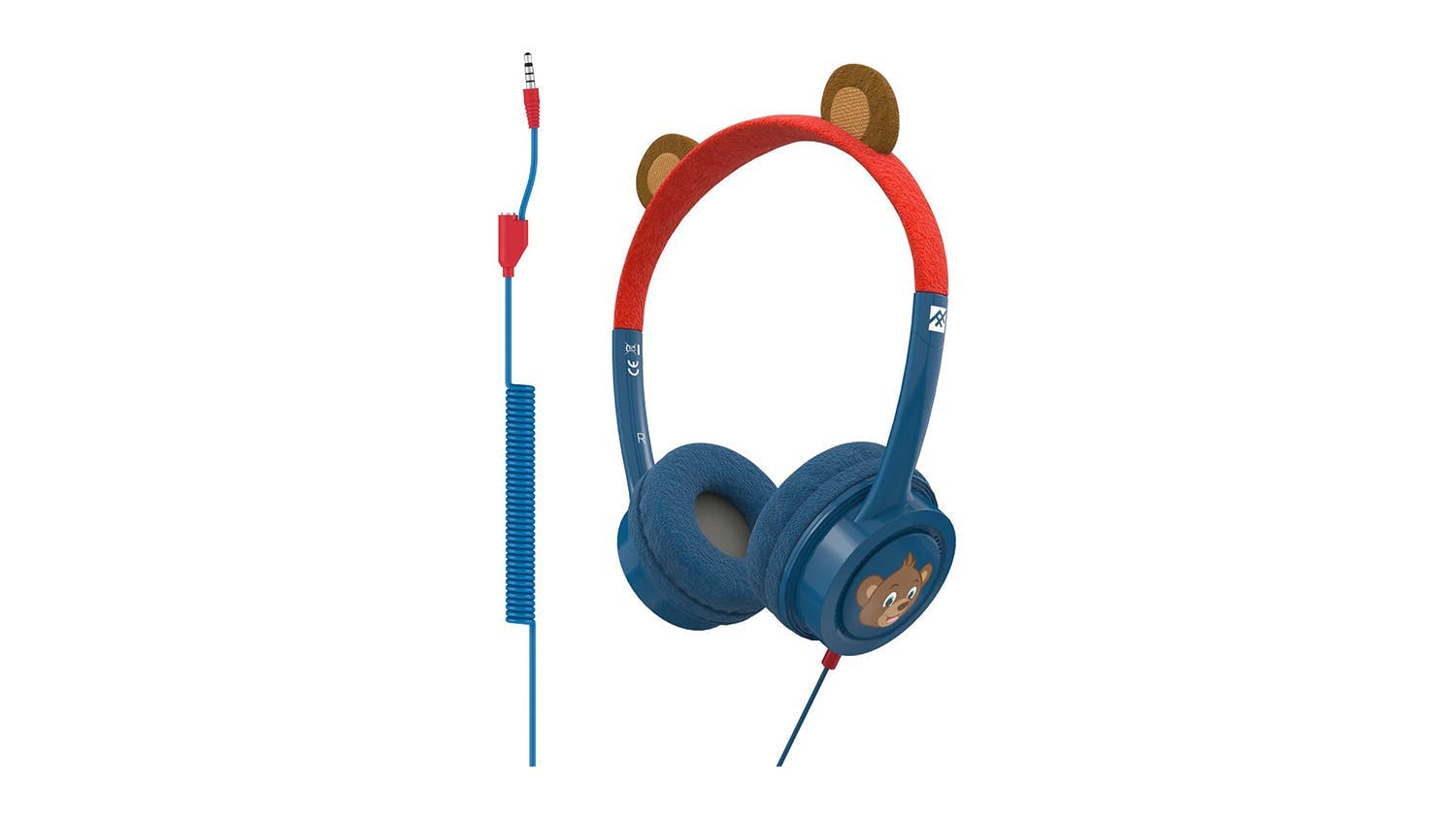 iFrogz Little Rockers Kids Wired Headphones - Bear