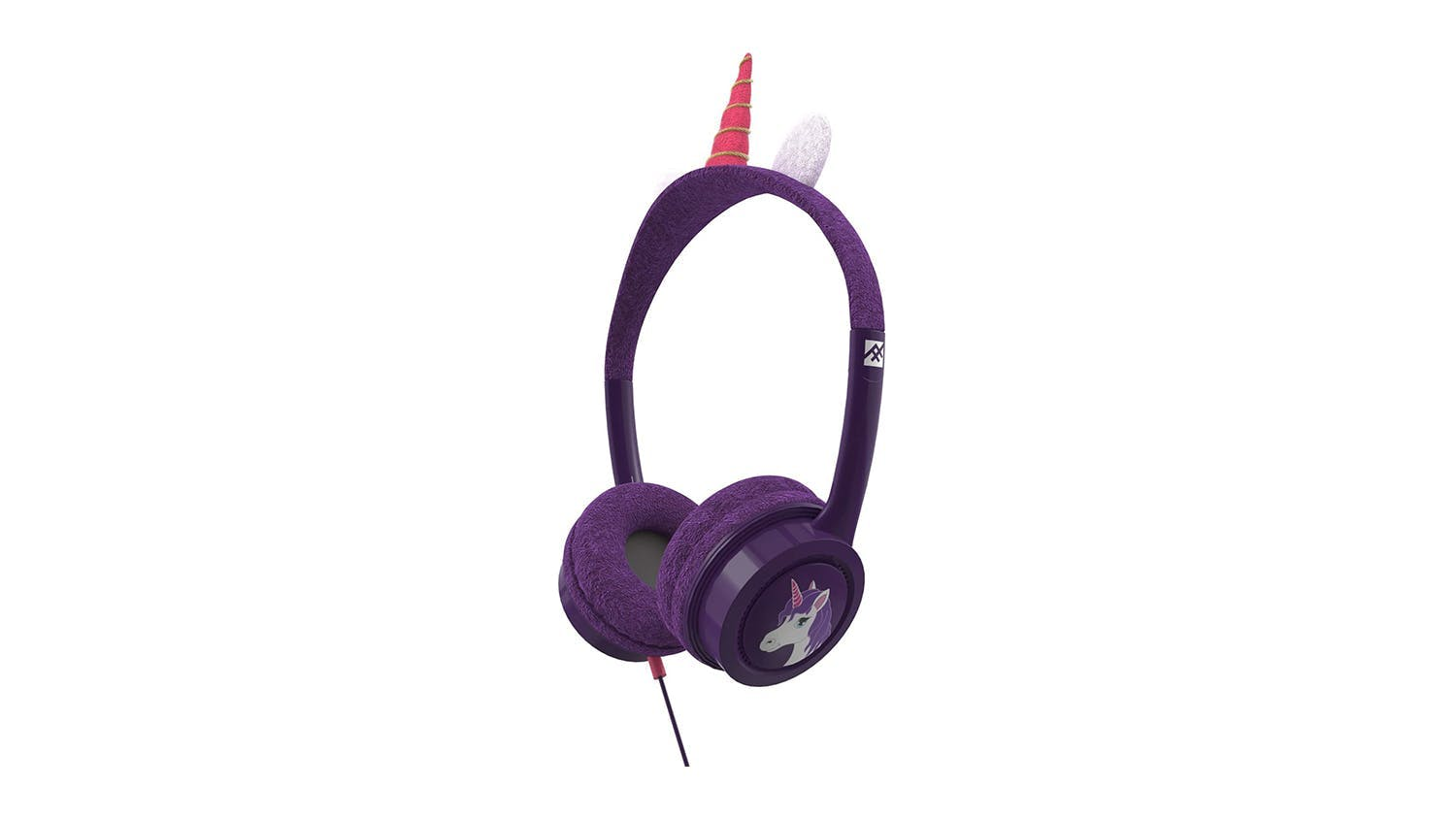 iFrogz Little Rockers Kids Wired Headphones - Unicorn