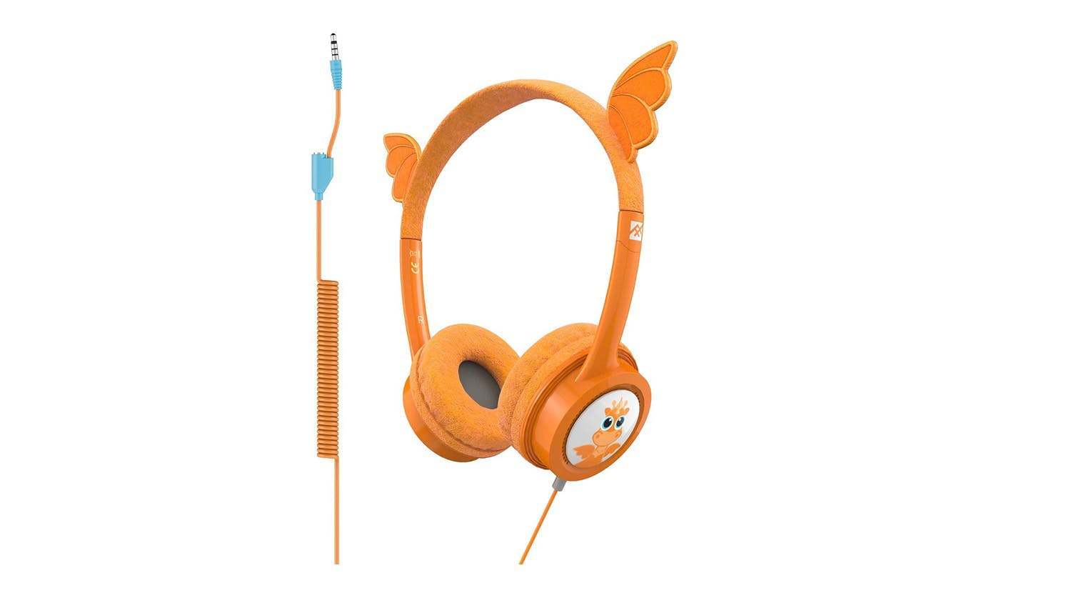 iFrogz Little Rockers Kids Wired Headphones - Dragon