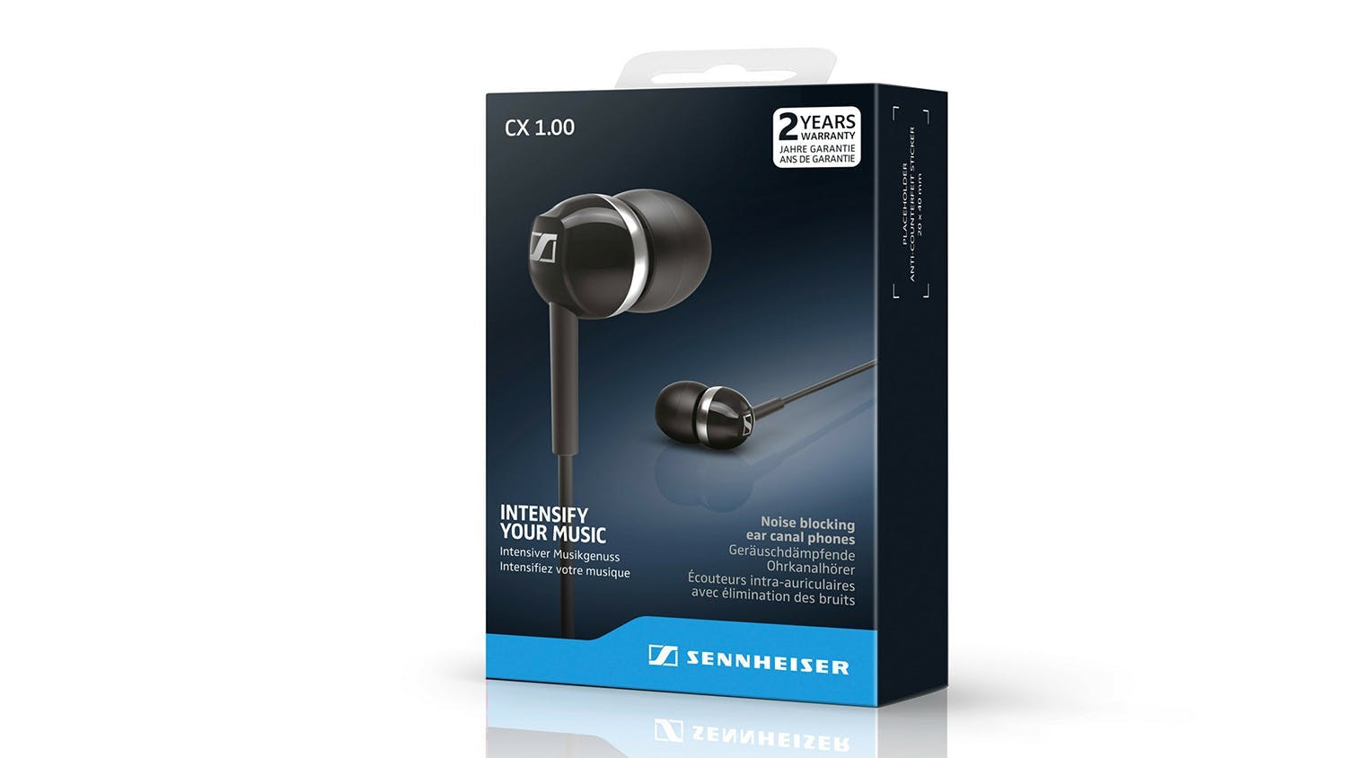 Sennheiser CX 1.00 In-Ear Headphones