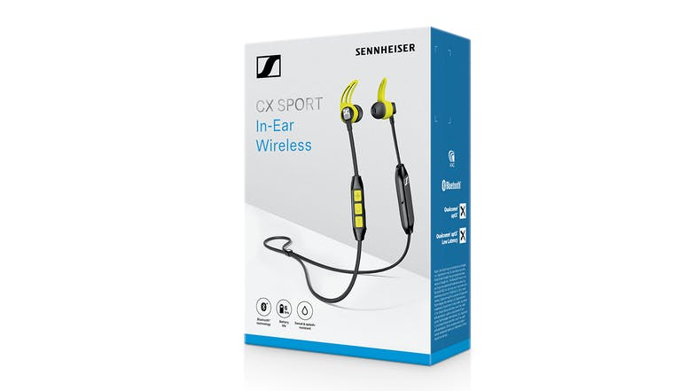 Sennheiser CX SPORT In-Ear Wireless Headphones
