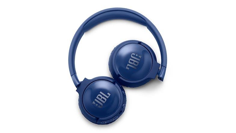JBL TUNE 600BTNC Wireless Noise Cancelling On-Ear Headphones - Blue
