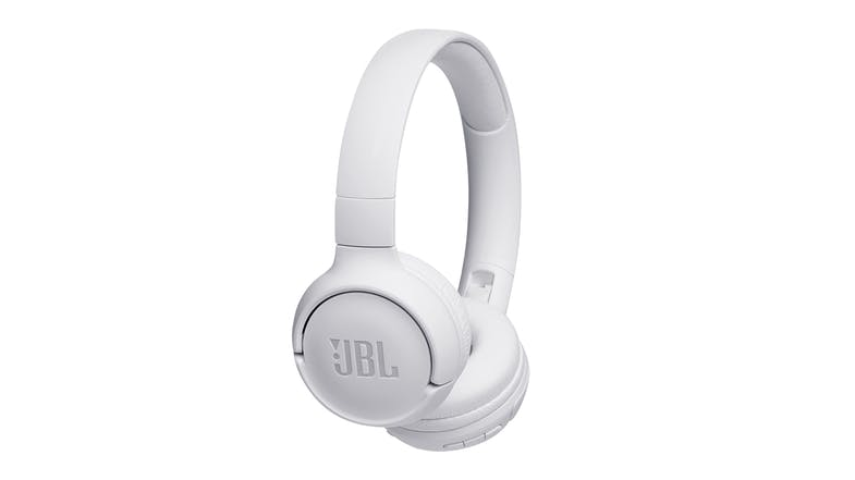 JBL TUNE 500BT Wireless On-Ear Headphones - White