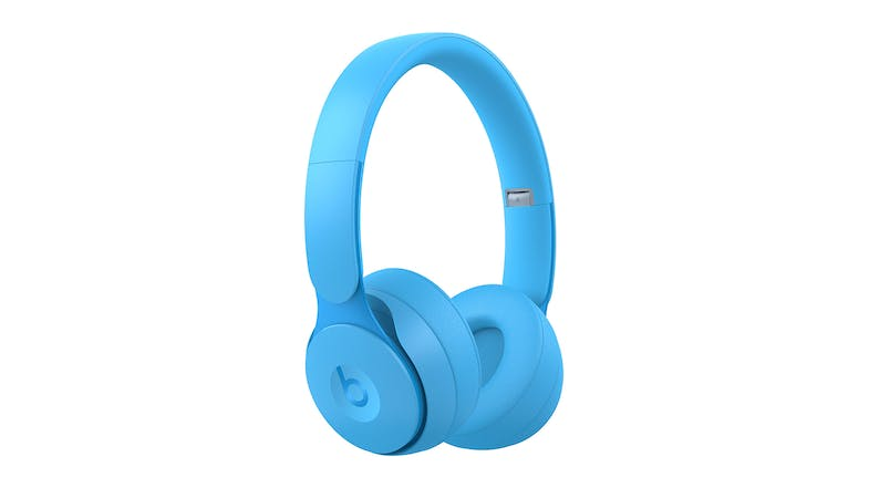 Beats Solo Pro More Matte Wireless On-Ear Headphones - Light Blue