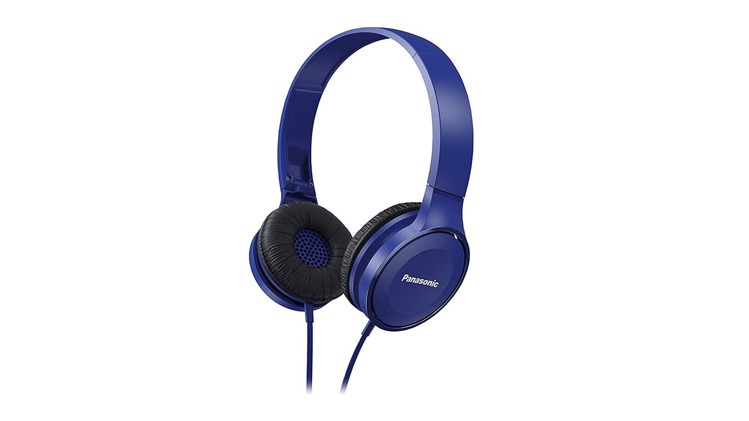 Panasonic RP-HF100 On-Ear Headphones - Blue