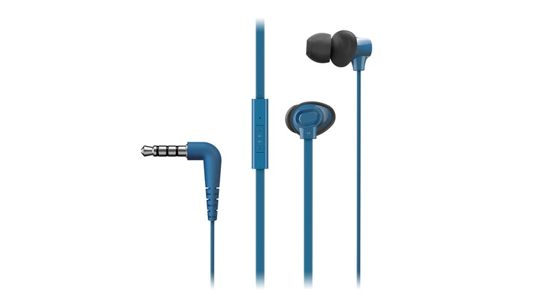 Panasonic TCM130 Wired Headphones Blue
