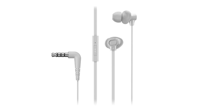 Panasonic TCM130 Wired In-Ear Headphones - White
