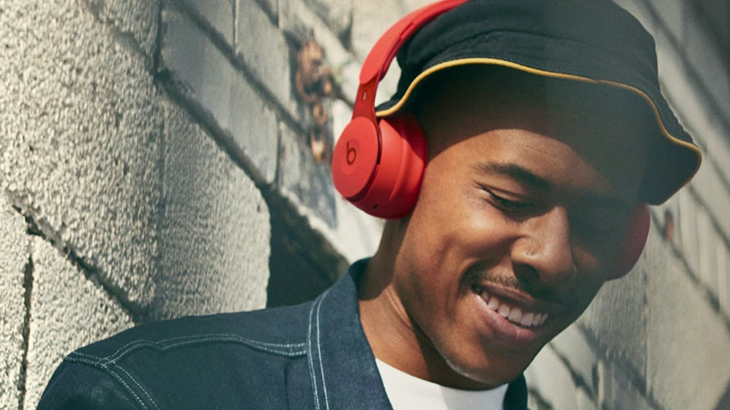 Beats Solo Pro More Matte Wireless On-Ear Headphones - Red