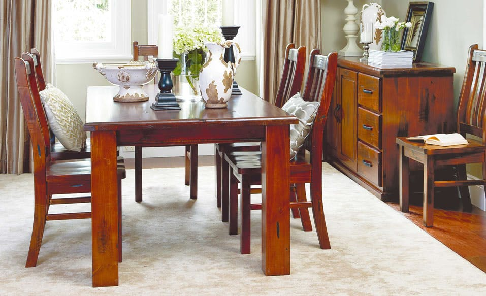 Albury 7 Piece Dining Suite by John Young Furniture ...