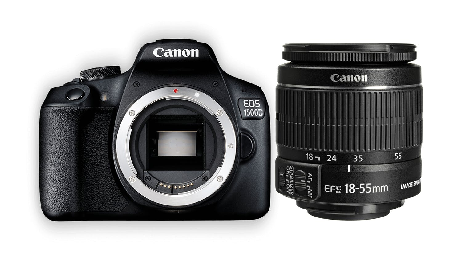 Canon EOS 1500D DSLR with EF-S 18-55mm Lens | Harvey Norman New ...