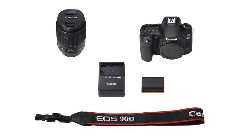 Canon EOS 90D DSLR with EF-S 18-135mm Lens