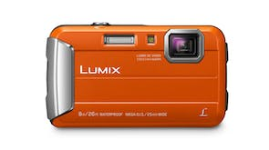 Panasonic Lumix DMC-FT30 Tough Digital Camera - Orange