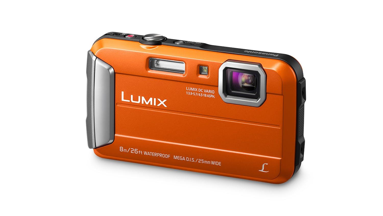 Panasonic Lumix DMC-FT30 Tough Digital Camera - Orange ...