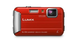 Panasonic Lumix DMC-FT30 Tough Digital Camera - Red