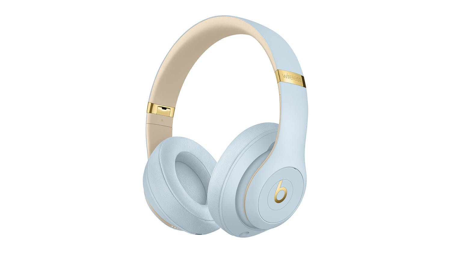 Beats Studio3 Skyline Wireless Over-Ear Headphones - Crystal Blue